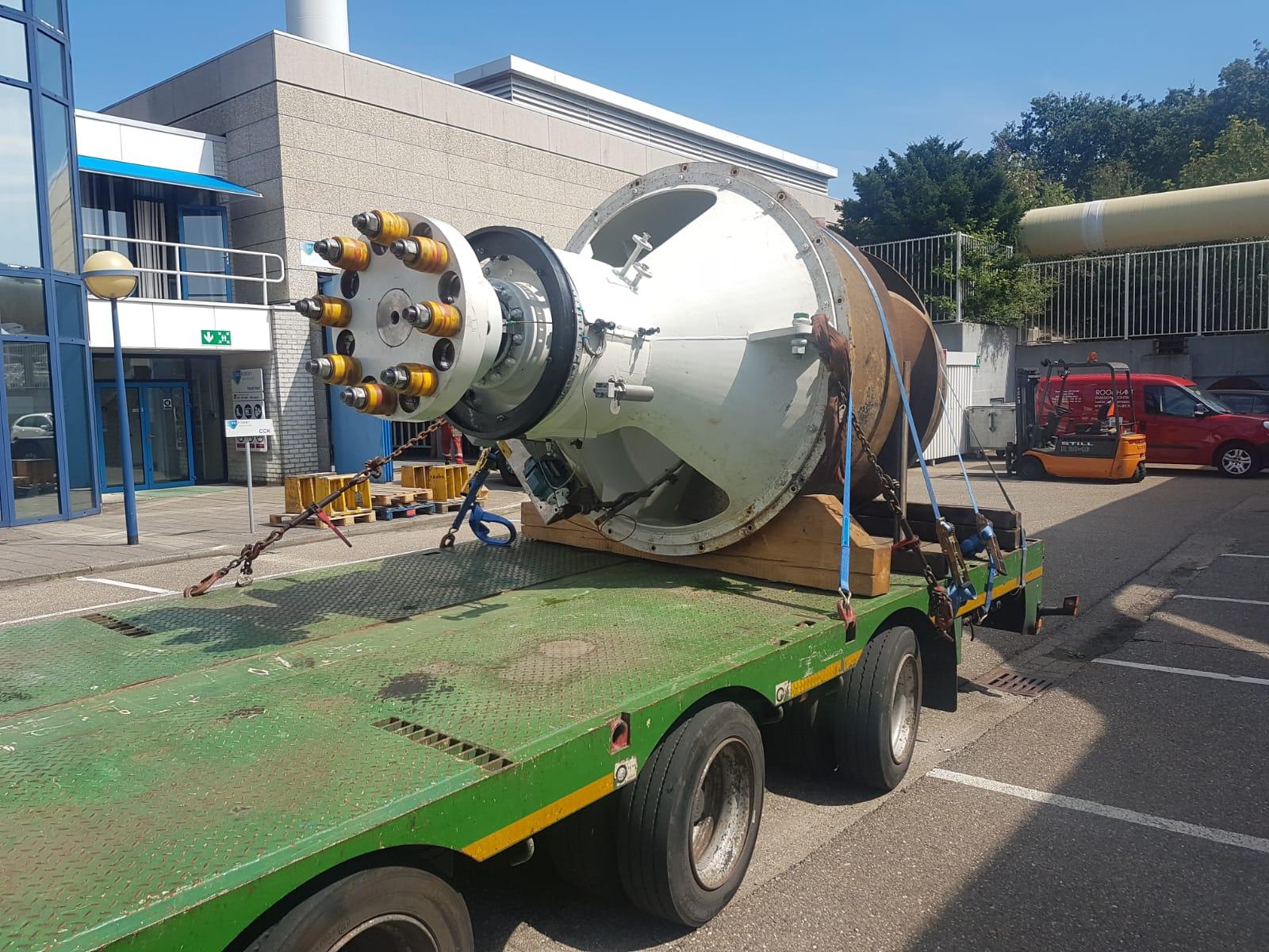 Major overhaul Flowserve BVC – 140-Y1