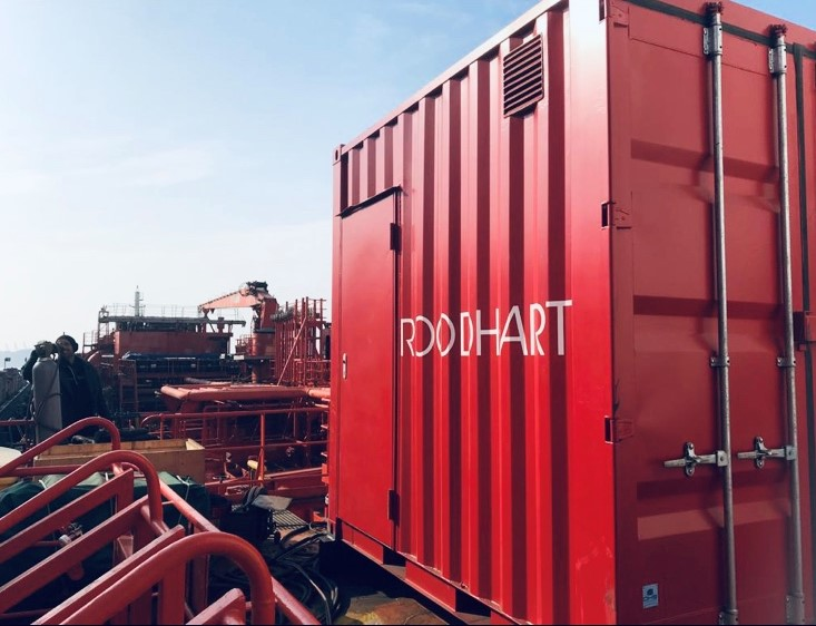 Containerized ballast water treatment system Nordic Lynx